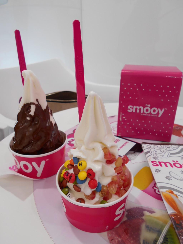 The best personalised frozen yoghurt