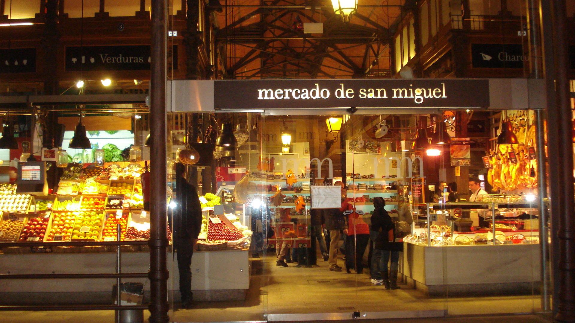 Mercado De San Miguel Where To Eat In Madrid