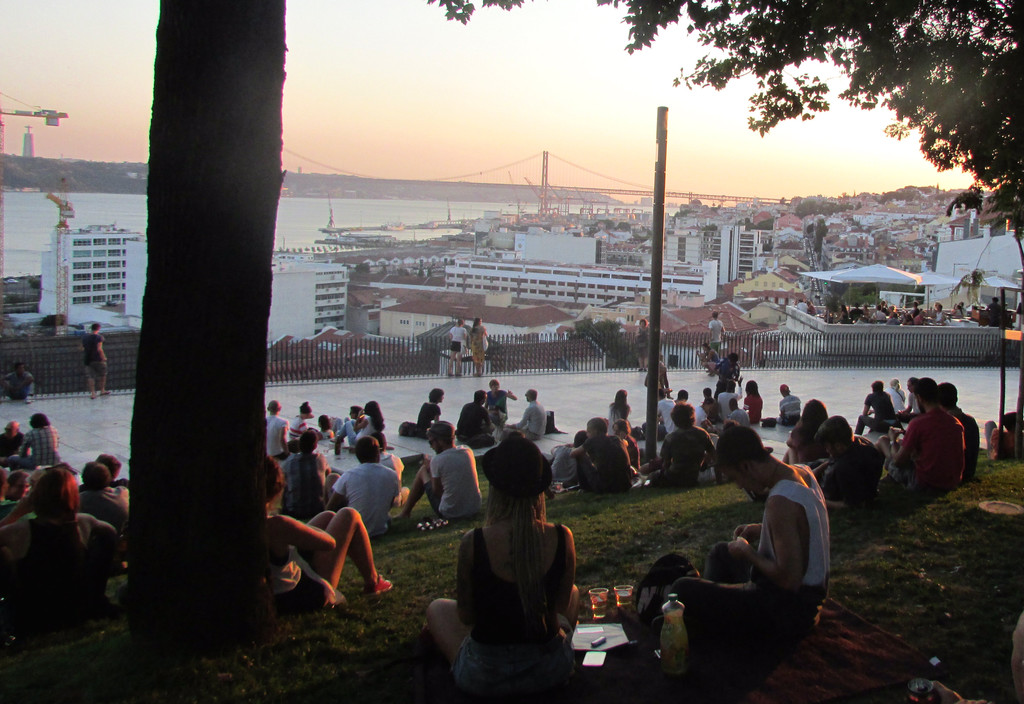 The best viewpoints in Lisbon
