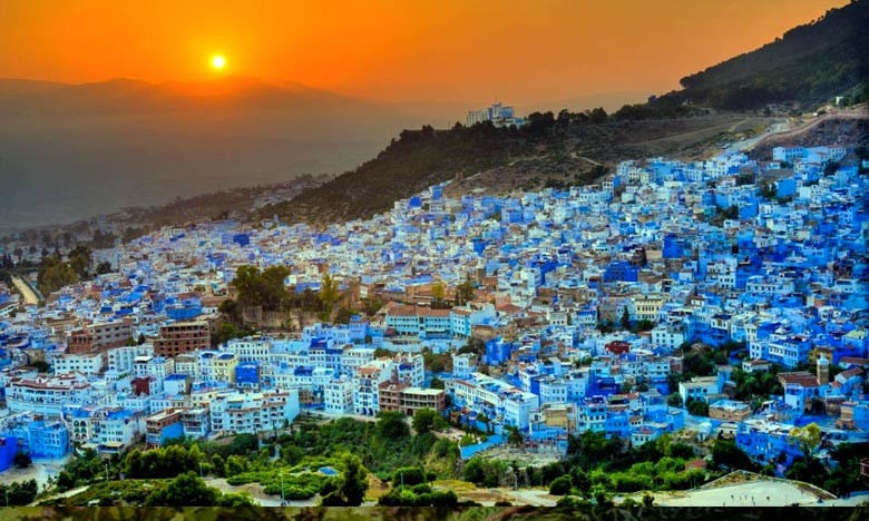 The blue jewel, Chefchaouen the andalusia