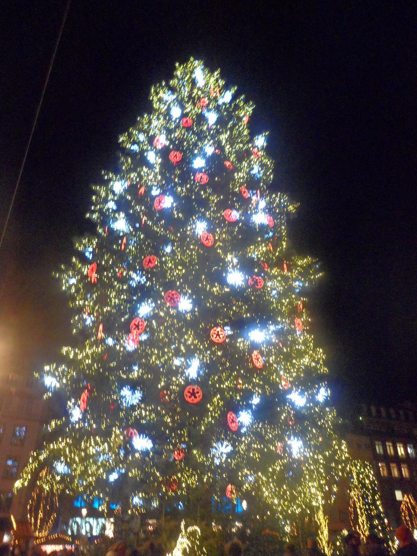 The bright Christmas market