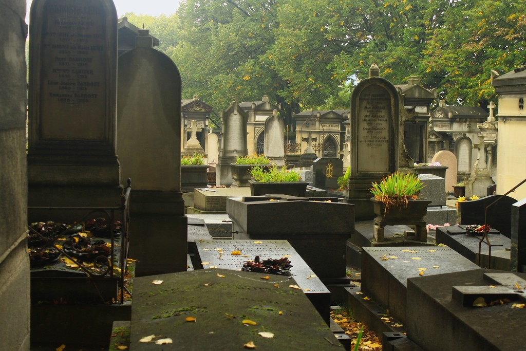 The celebrity cemetery