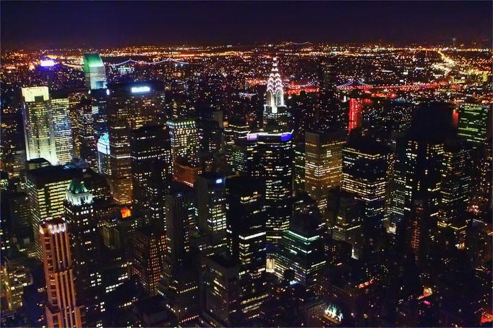 La ville qui ne dort jamais!