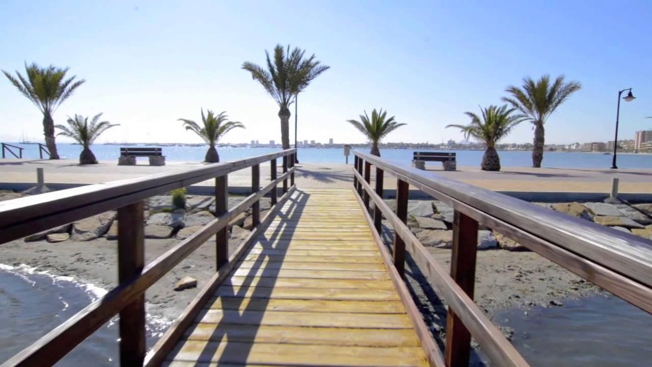 The closest beaches to Murcia   Erasmus experience Murcia