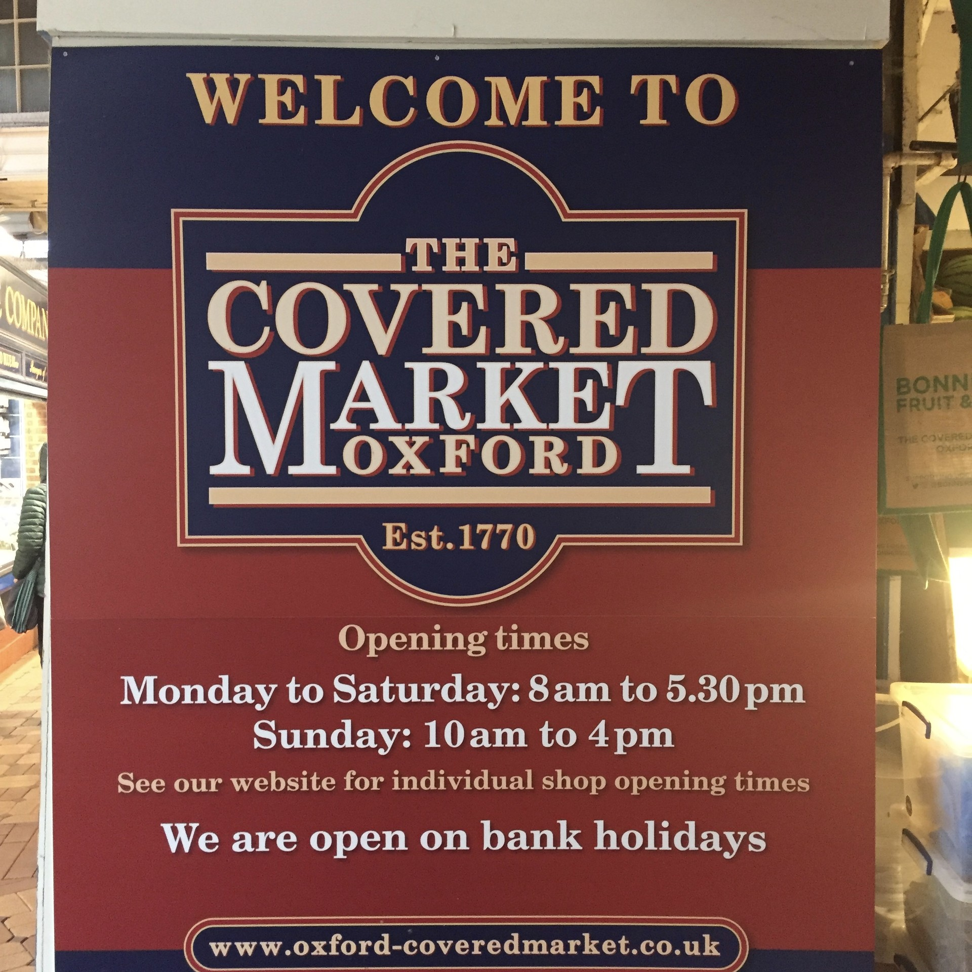 The Covered Market What To See In Oxford
