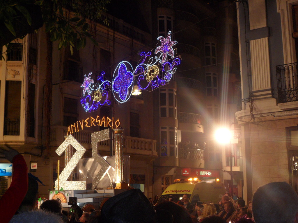 The festive carnival of Aguilas