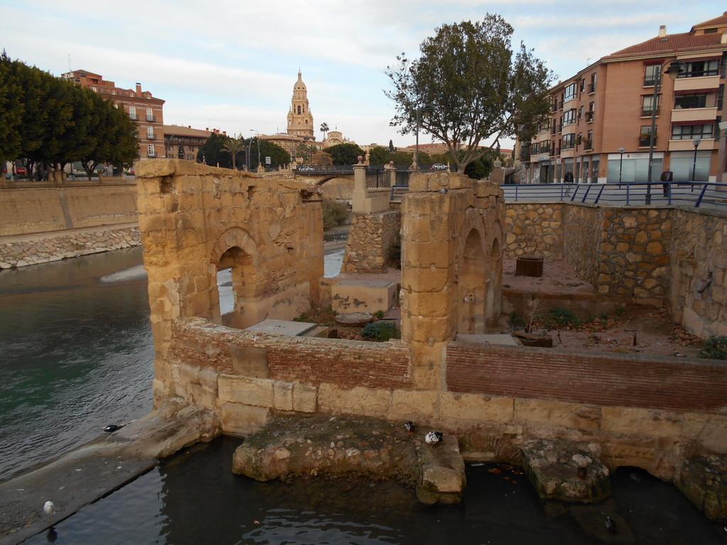 The most beautiful bridge in Murcia