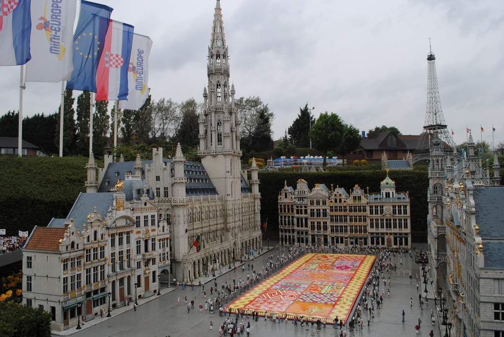 The most beautiful square in Brussels