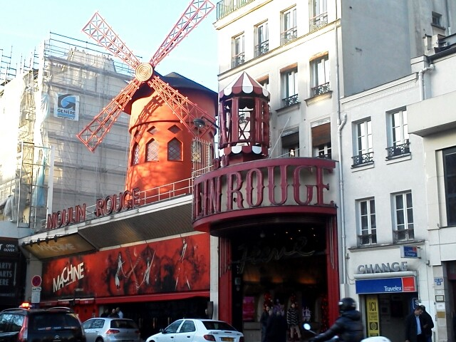 The most famous cabaret house in Paris