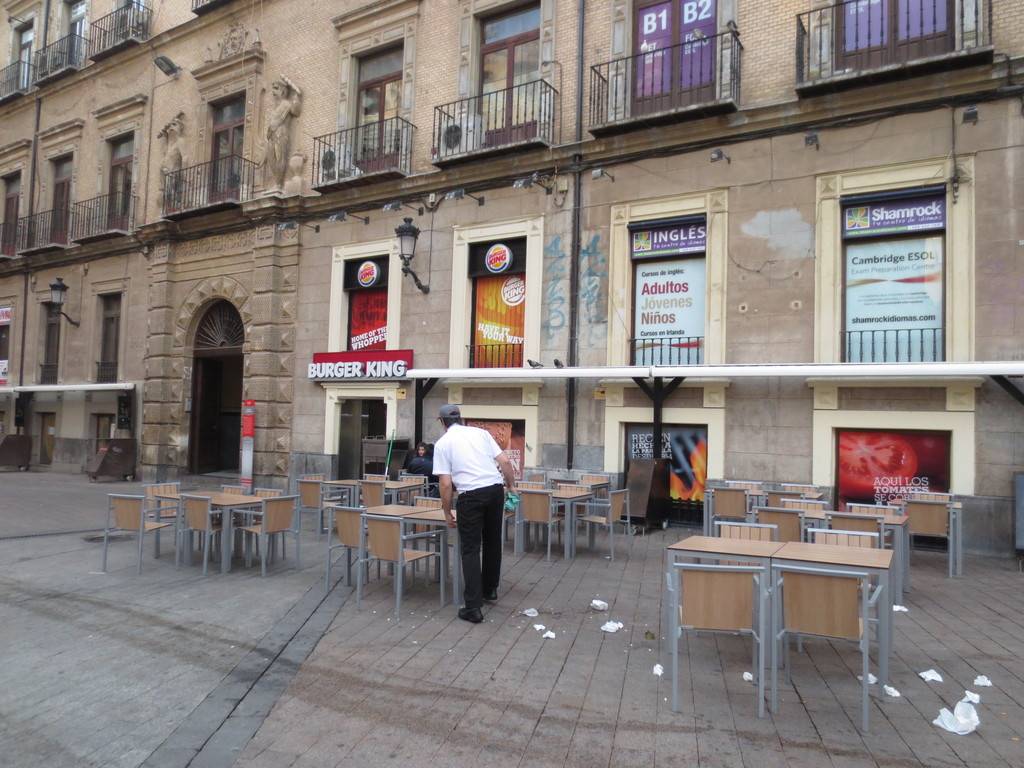 The most visited public square in Murcia