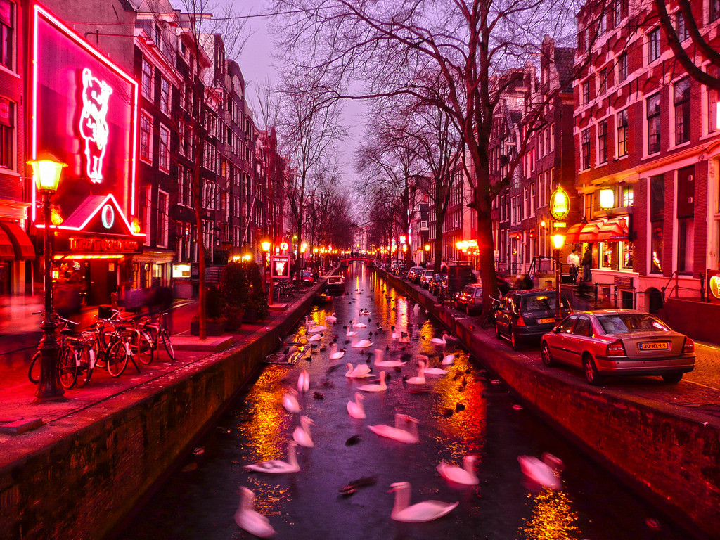 The neighbourhood that makes you blush
