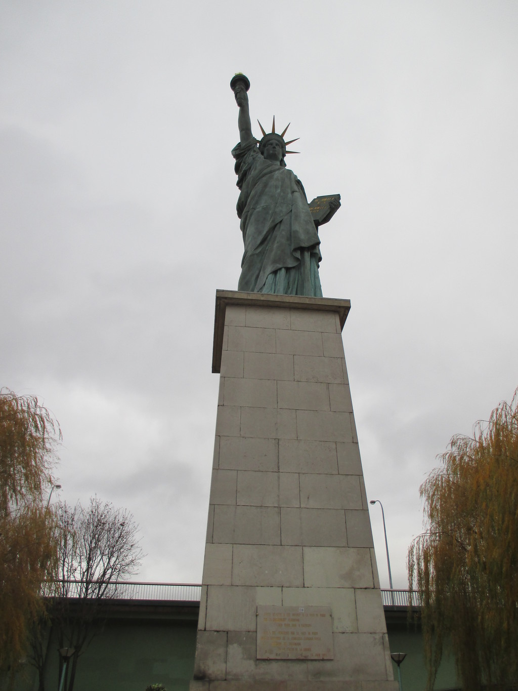 The Parisian Statue of Liberty