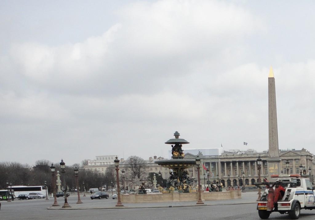 The Place de la Révolution that later became the Place de la Concorde
