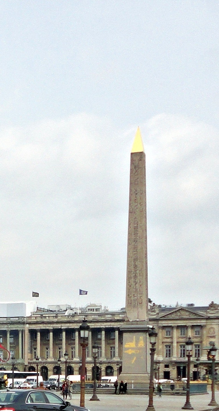 The Place de la Révolution that later became the Place de la Concorde