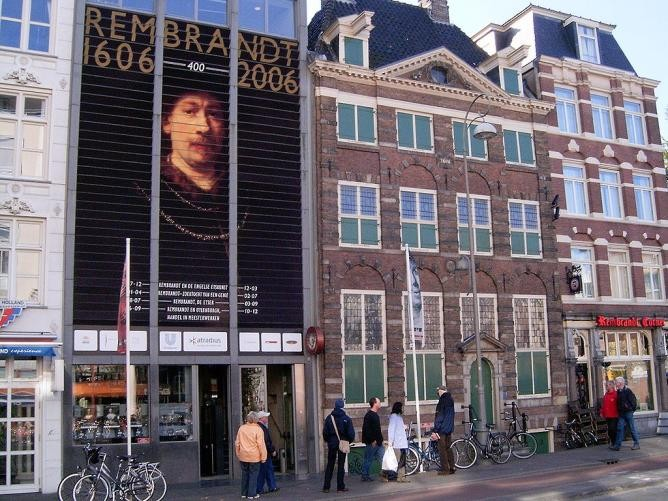The Rembrandthuis Museum in Amsterdam