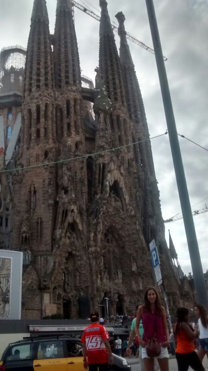 The Sagrada Familia, an unfinished masterpiece