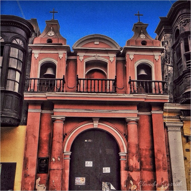The smallest church in the world is in Lima