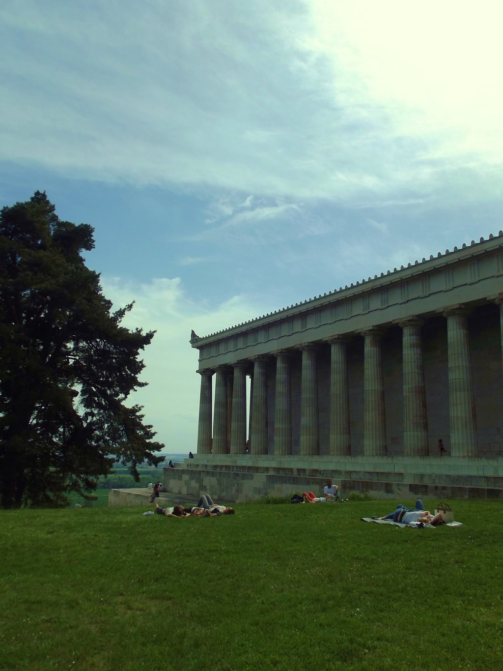 The Walhalla: the palace in memory of the most important personalities of the German culture and history