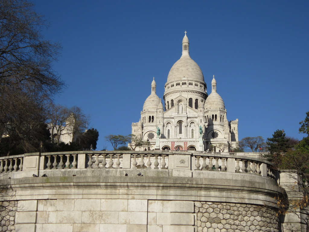 The white temple of Montmatre