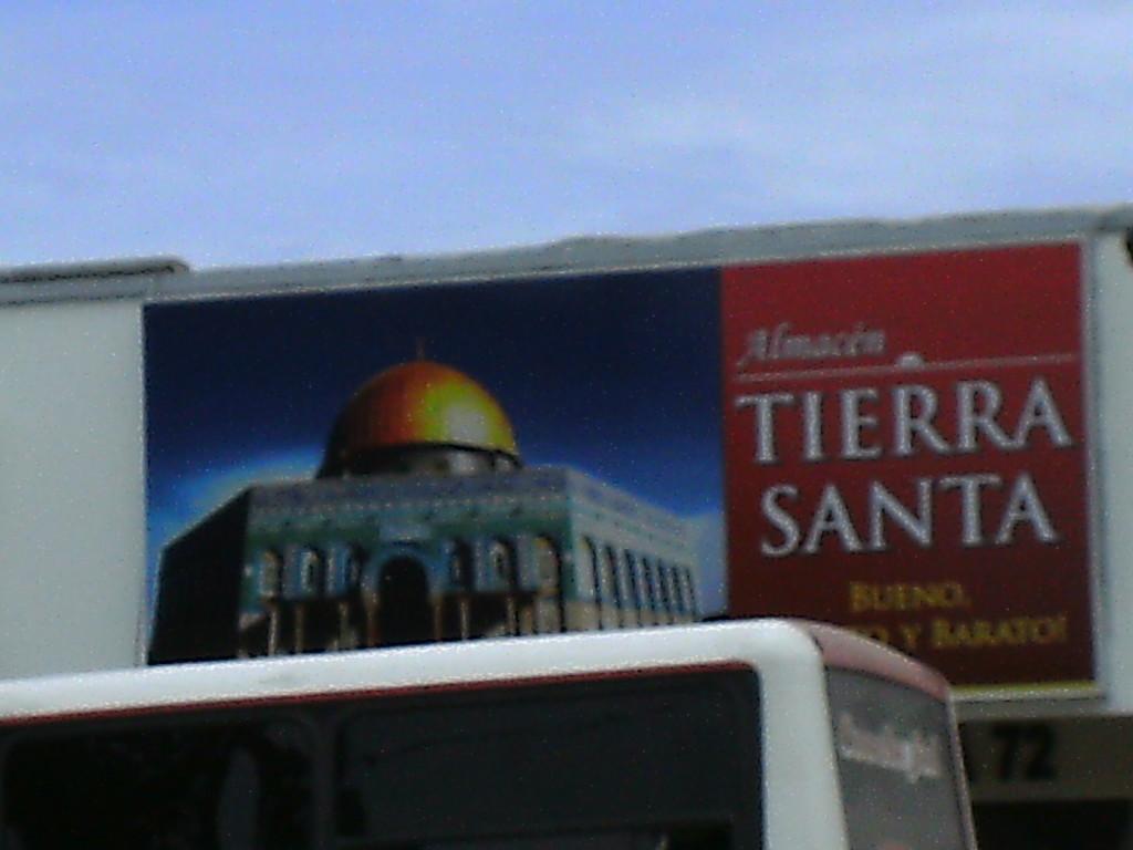 Tierra Santa, un posto da visitare