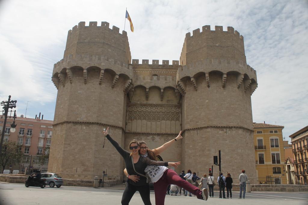 Torres De Serranos Erasmus Blog Valencia Spain