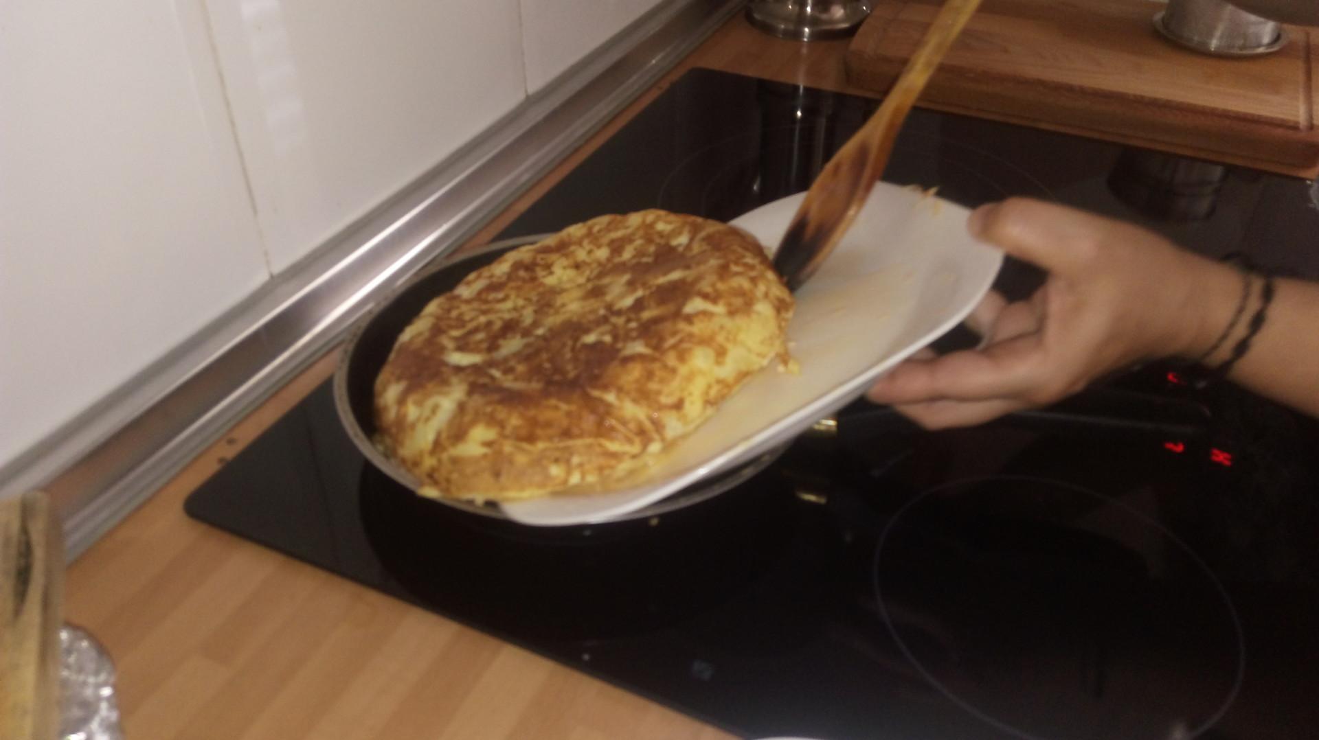 Tortilla Con Patatas Al Vapor Recetas Erasmus ~ Tortilla De Patatas Baja En Calorias