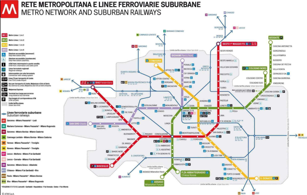 Transportation System in Milan, Italy | General
