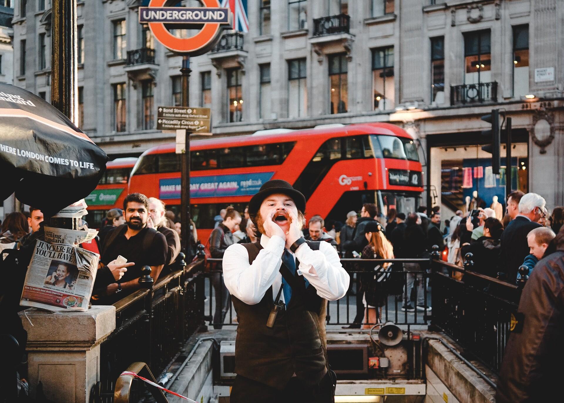 Transporte público en Londres - Moverse por Londres