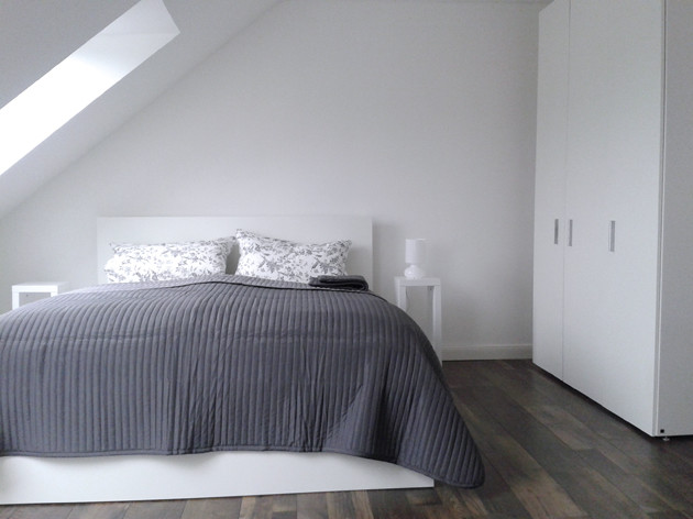 two beautiful high quality furnished attic rooms with private ba