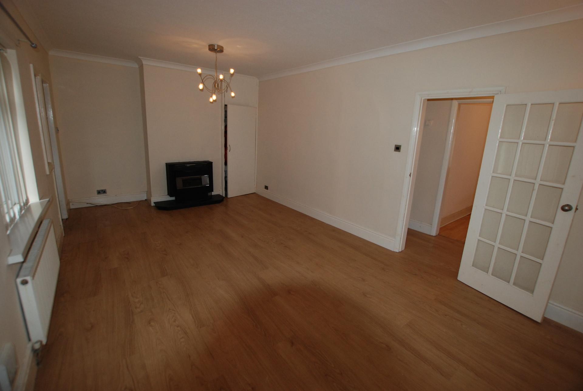 Two bedroomed ground floor flat in the popular Denton Burn