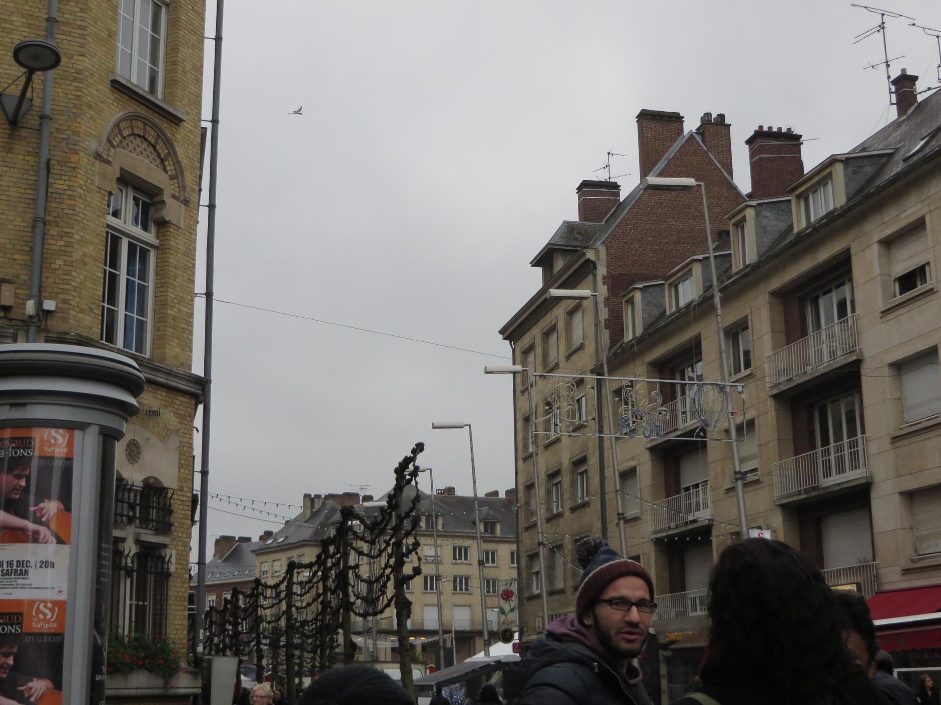 Um dia de viagem em Amiens, França