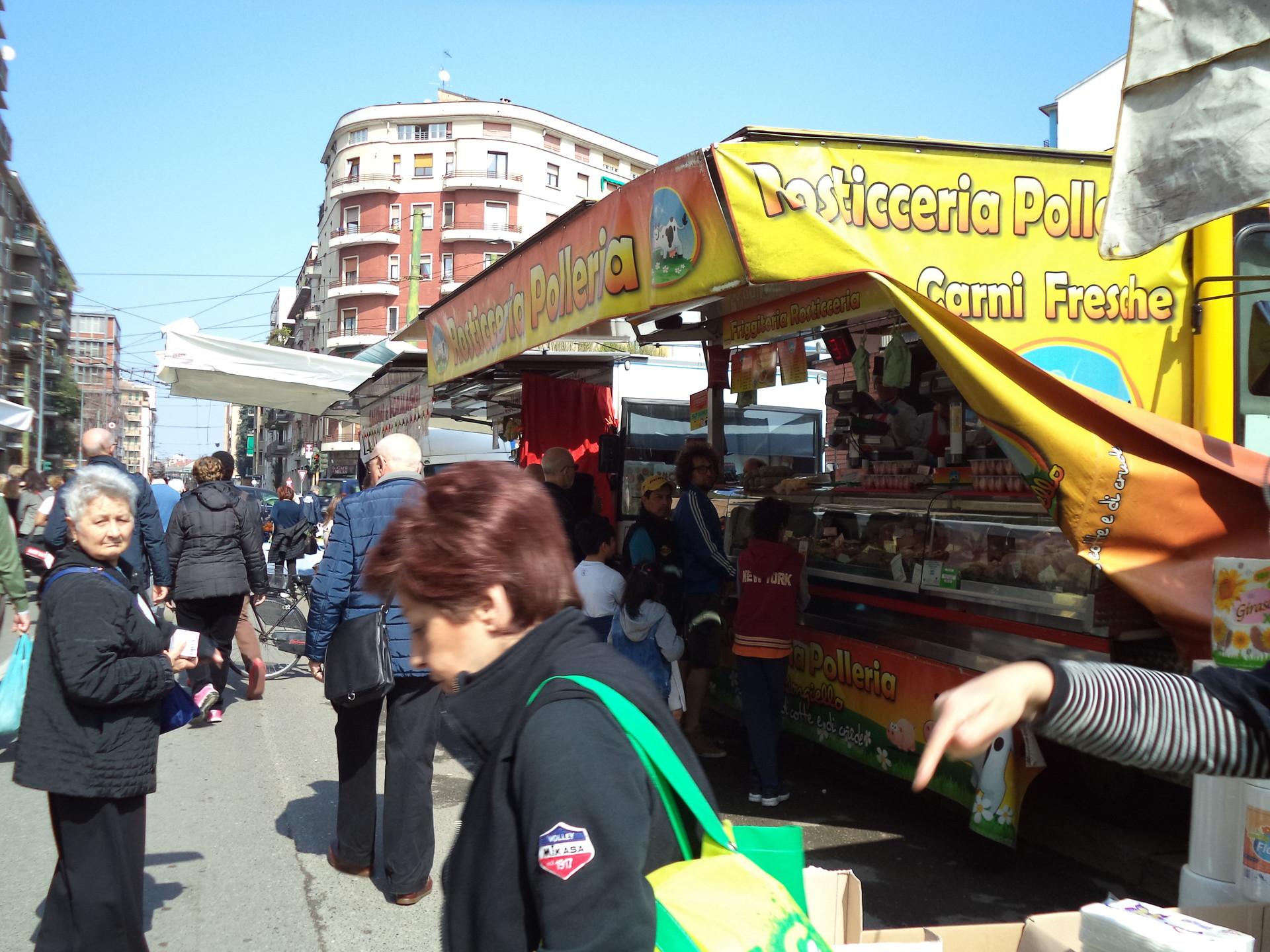 Um Mercado no meio da Cidade!
