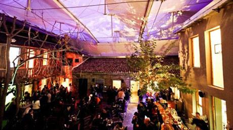 Uma Cafeteria/Galeria de Arte muito legal