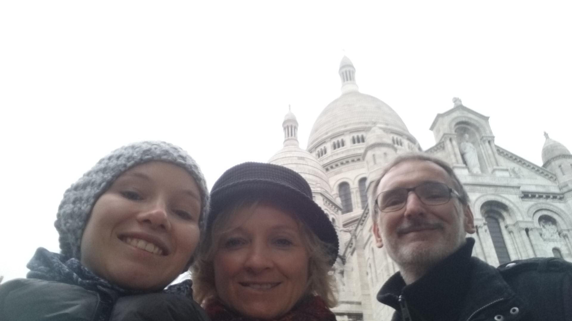 Uma semana em Paris com os meus pais