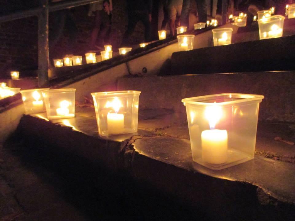 Un baño de luces sobre la desconocida Lieja