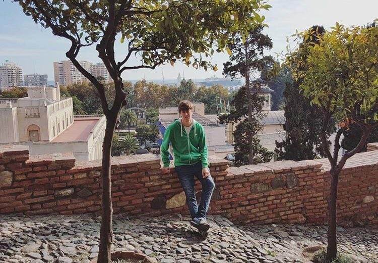 Un castillo en lo más alto de Málaga