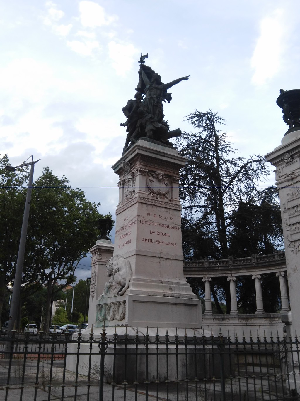 Un enorme parque, emblemático de la ciudad de Lyon