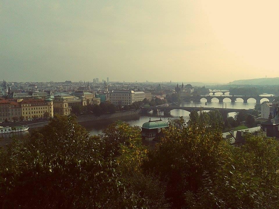 Un de las más impresionantes vistas de Praga