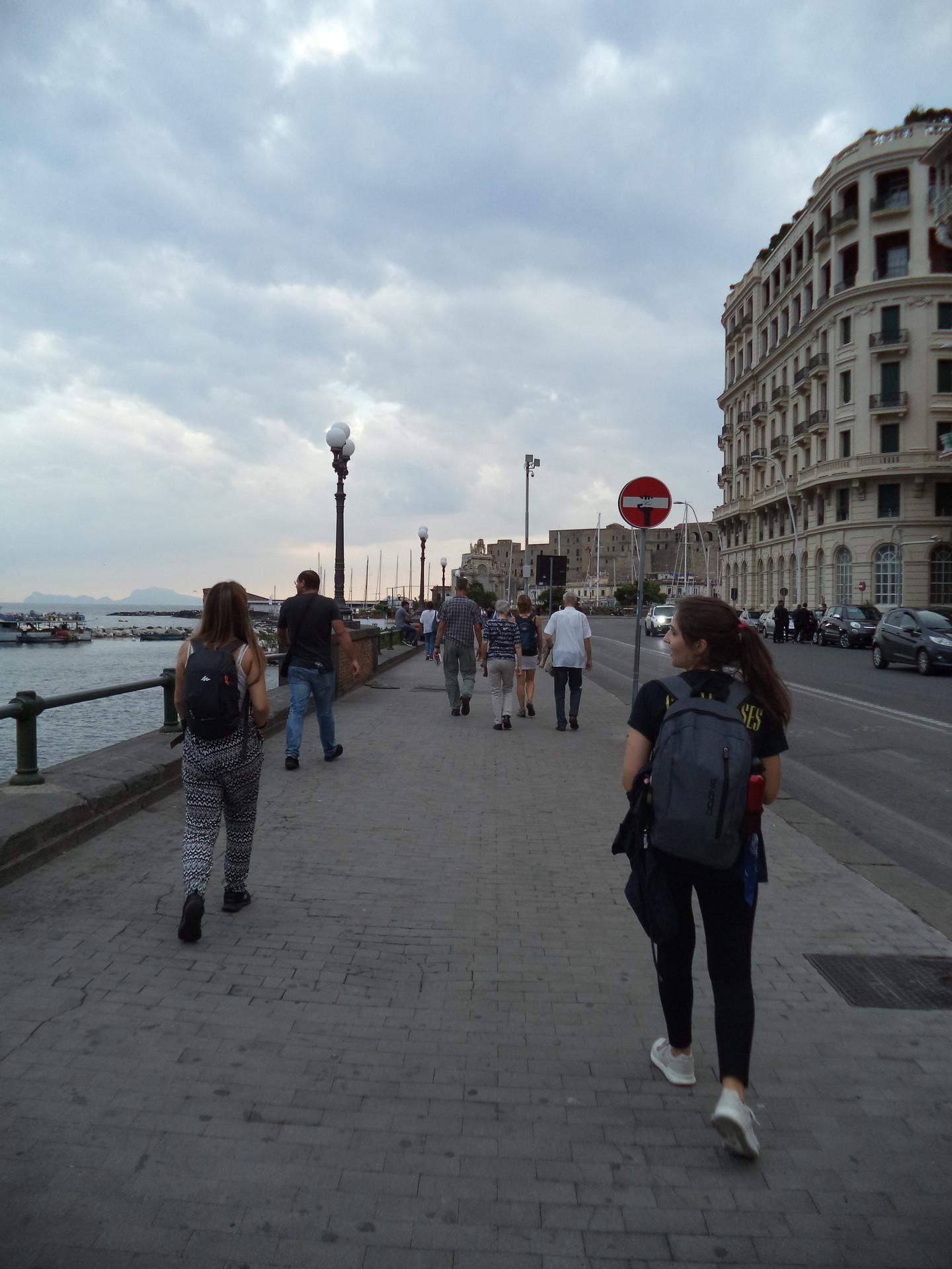 Un luogo pieno di storia accanto al porto d Napoli!