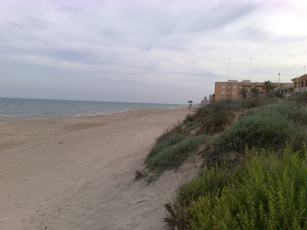 Un percorso tra le diverse spiagge a Sud di Albufera
