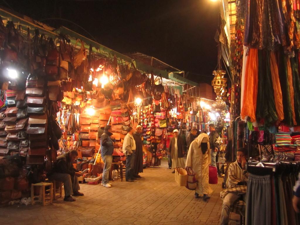 Un petit tour dans les souks de Marrakech