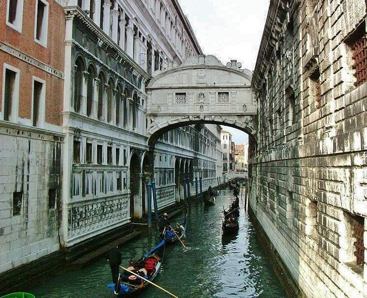 Puente De Los Suspiros Qué Ver En Venecia