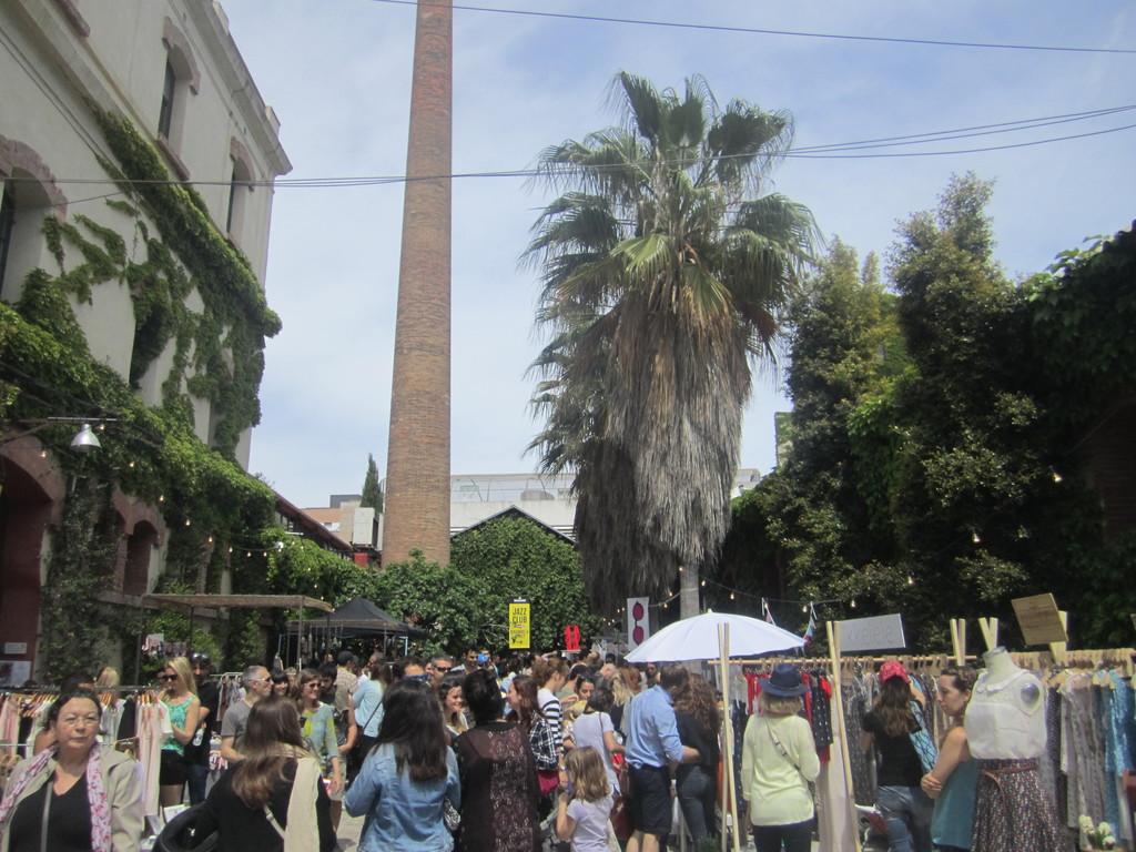 Un sitio con mucho encanto: el mercado de Palo alt