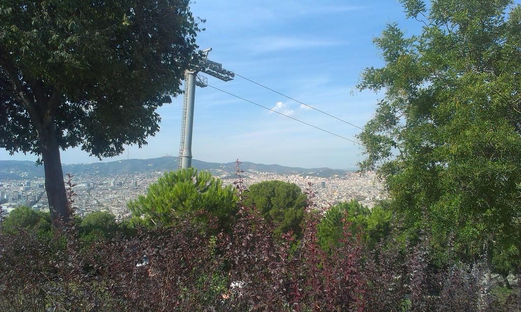 Una buena vista de la ciudad
