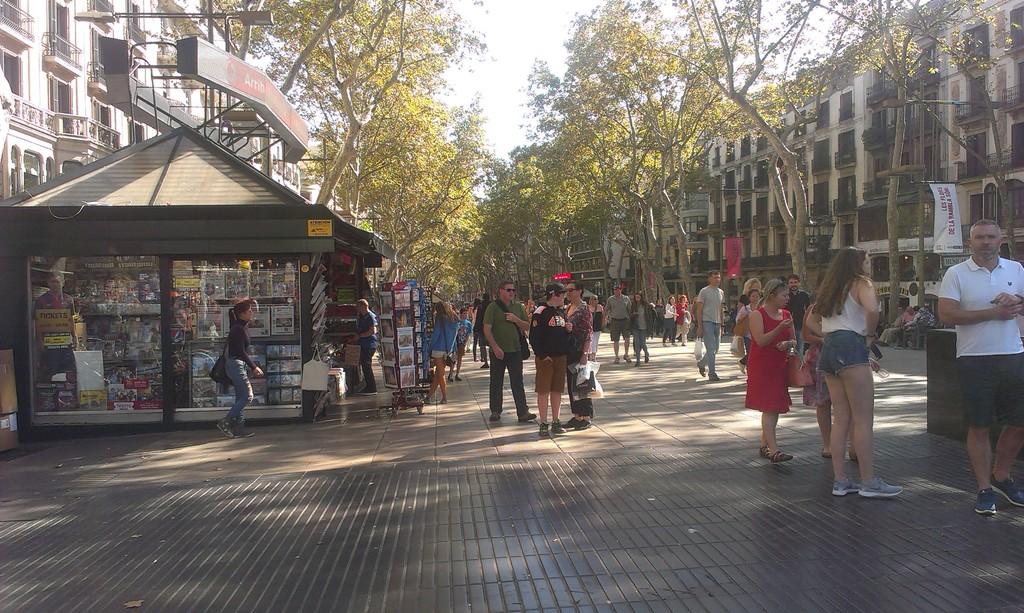 Una calle imprescindible en Barcelona
