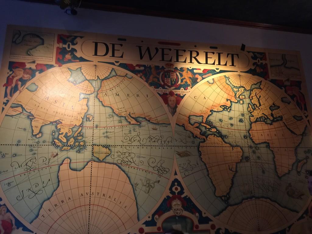 Una cerveza en De Weerelt (Oude Markt de Lovaina)