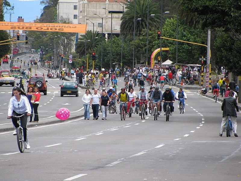 Una experiencia de domingo por la mañana en la capital de Colombia