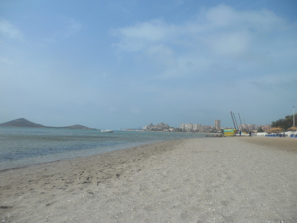 Una playa idílica