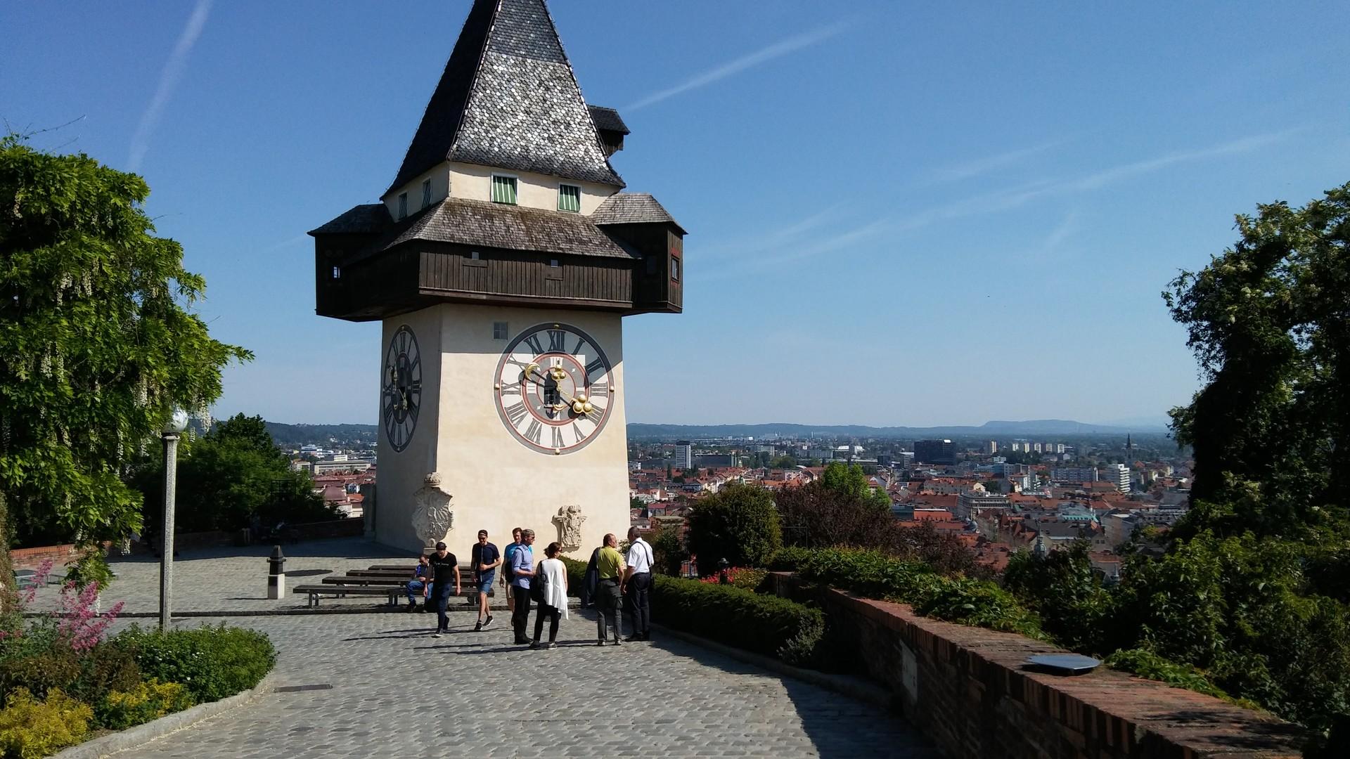 Una settimana di workshop a Graz (A)