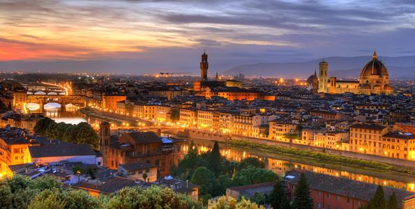 Una sosta a Firenze.